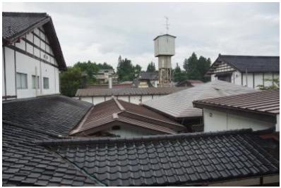 建物の屋根の損害